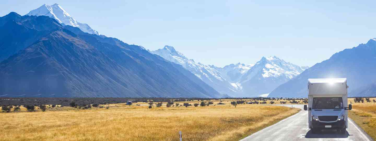 Campervan in New Zealand (Dreamstime)
