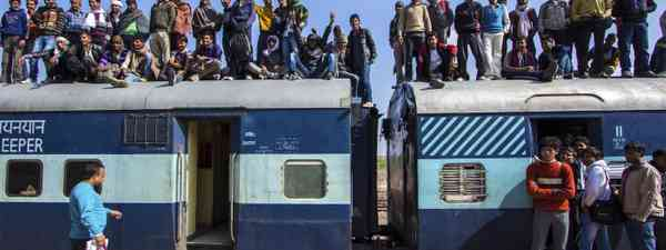 Crowded train in Jaisalmer (Shutterstock.com. See main credit below)