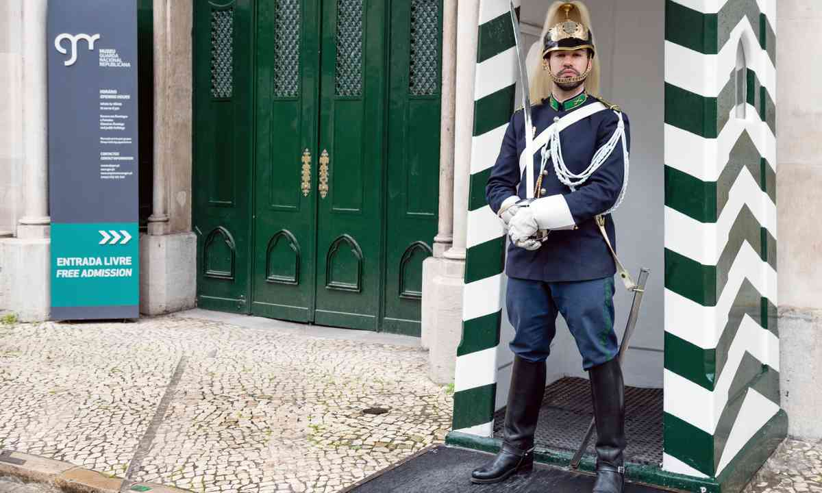 Guard in front of the Museum of the National Republic Guard (Dreamstime)