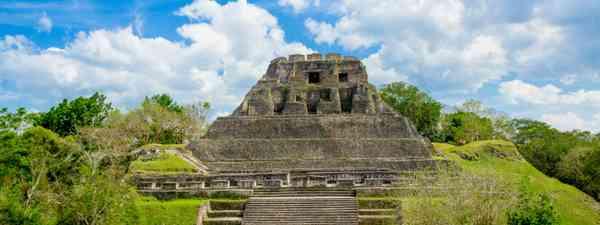 Xunantunich maya site ruins in Belize (Dreamstime)