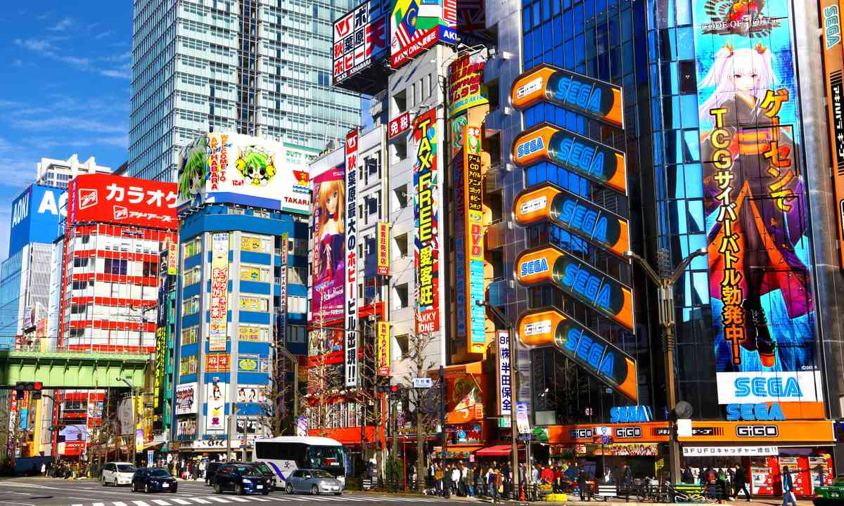 The colourful streets of Akihabra (Dreamstime)