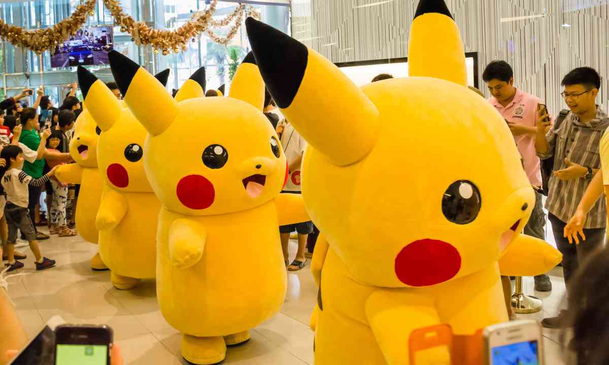Pikachus on parade (Dreamstime)