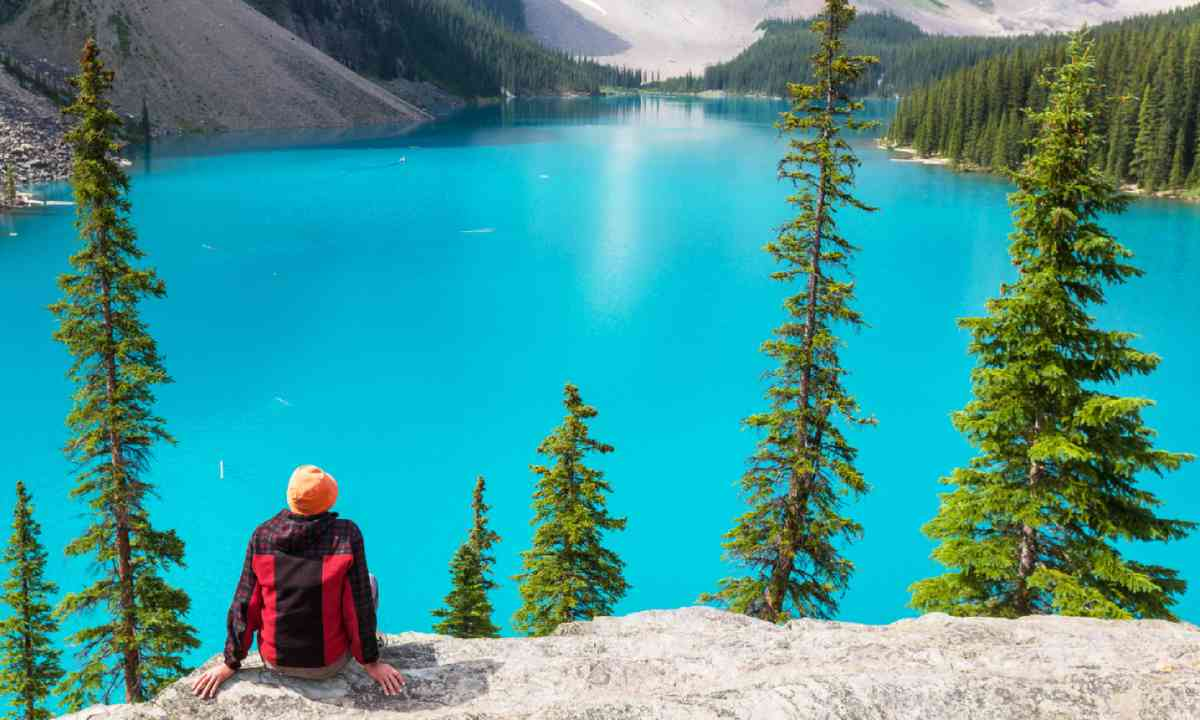 Moraine lake in Banff National park, Canada (Shutterstock)