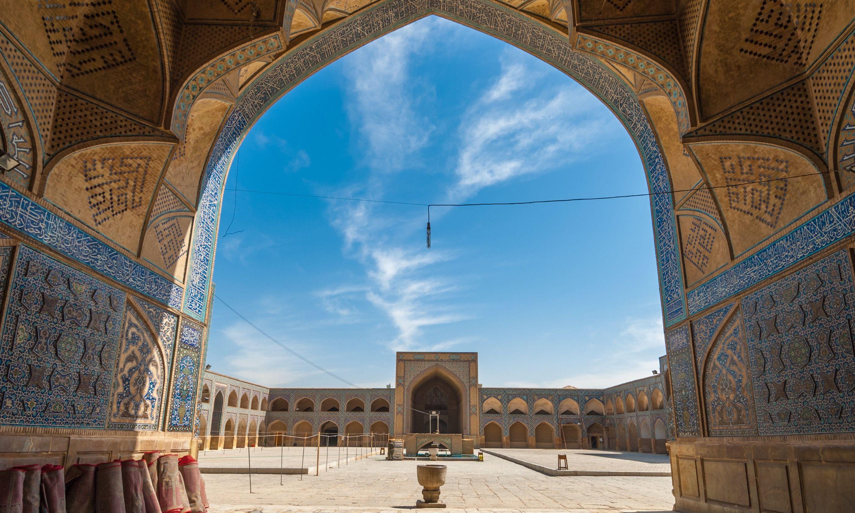 Friday mosque, Esfahan (Shutterstock.com)