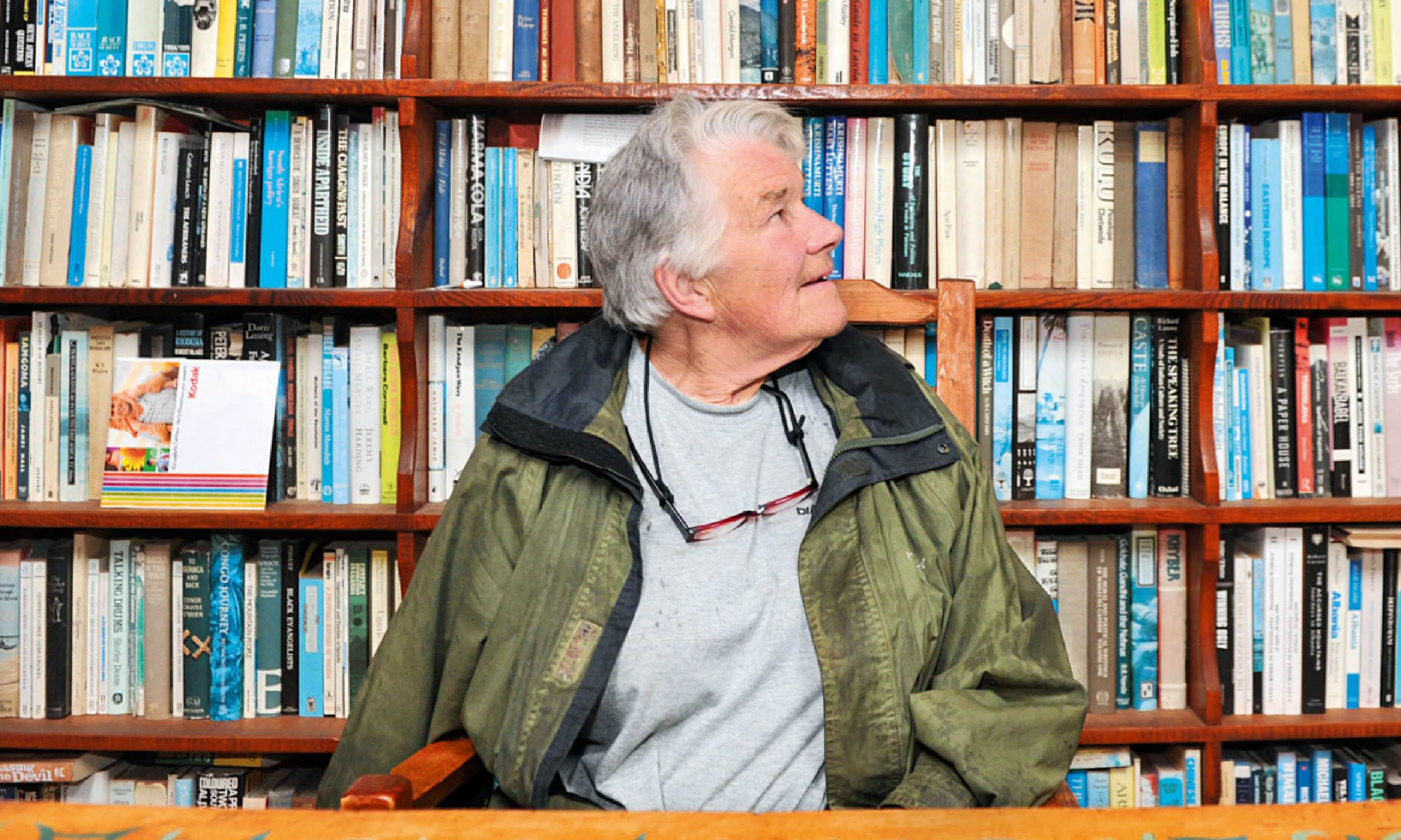 Dervla Murphy (Paddy Barker/ The Irish Examiner)