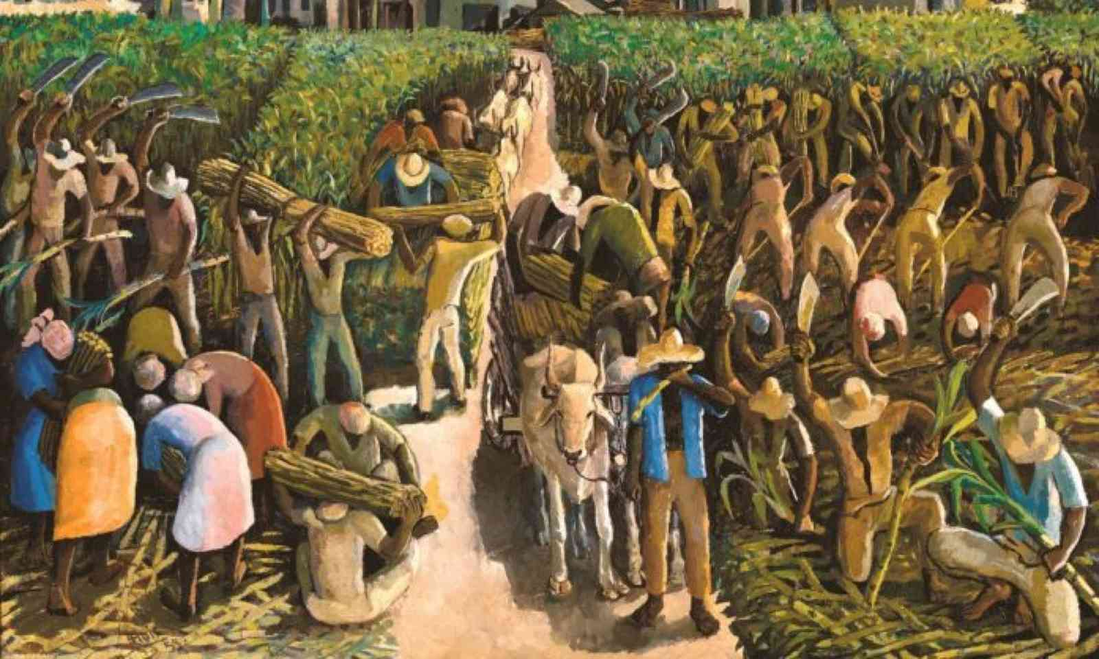Albert Huie – Crop Time (National Gallery of Jamaica)