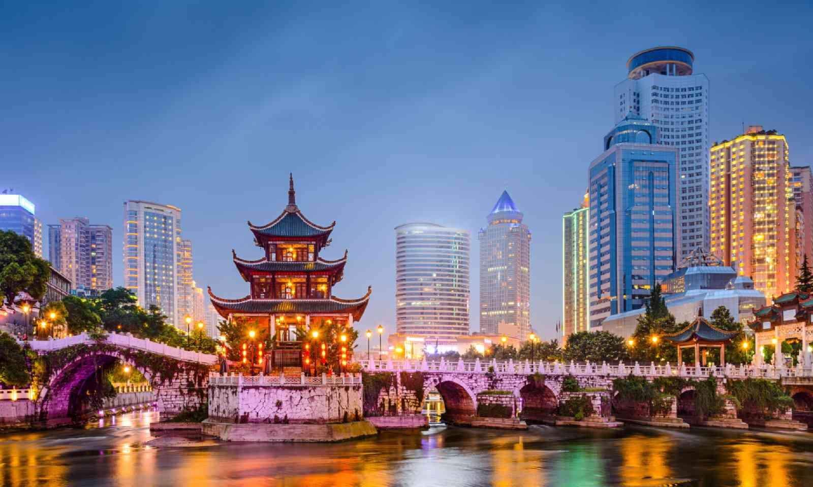 Guiyang, China (Shutterstock)