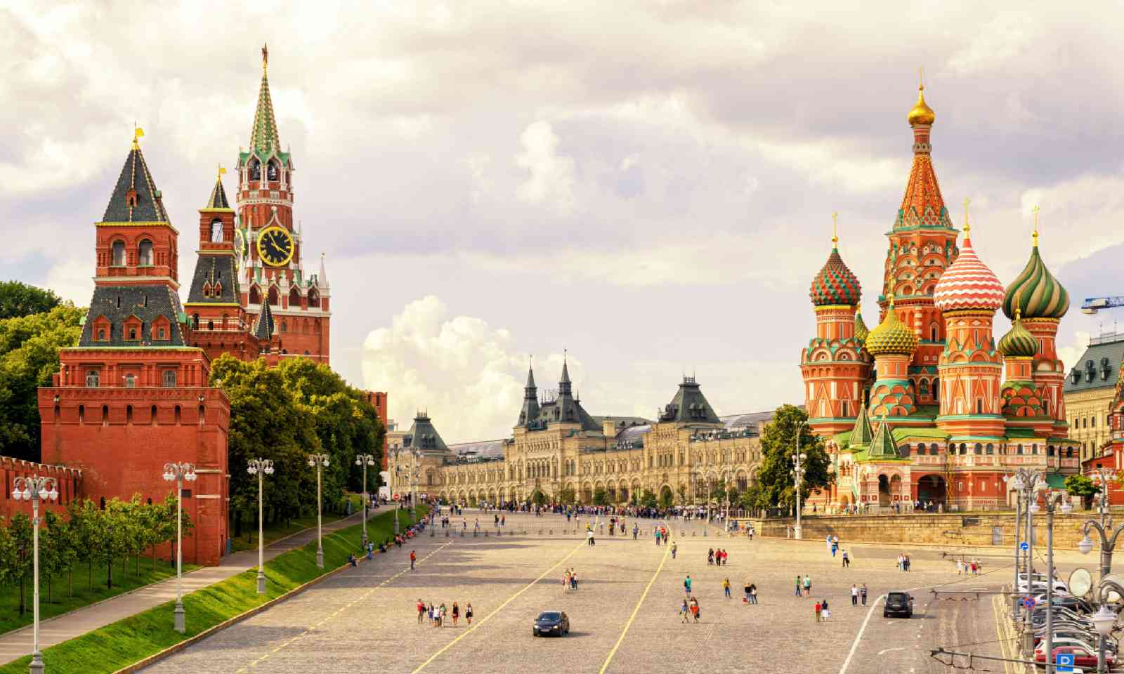 Red Square in Moscow, Russia (Shutterstock)
