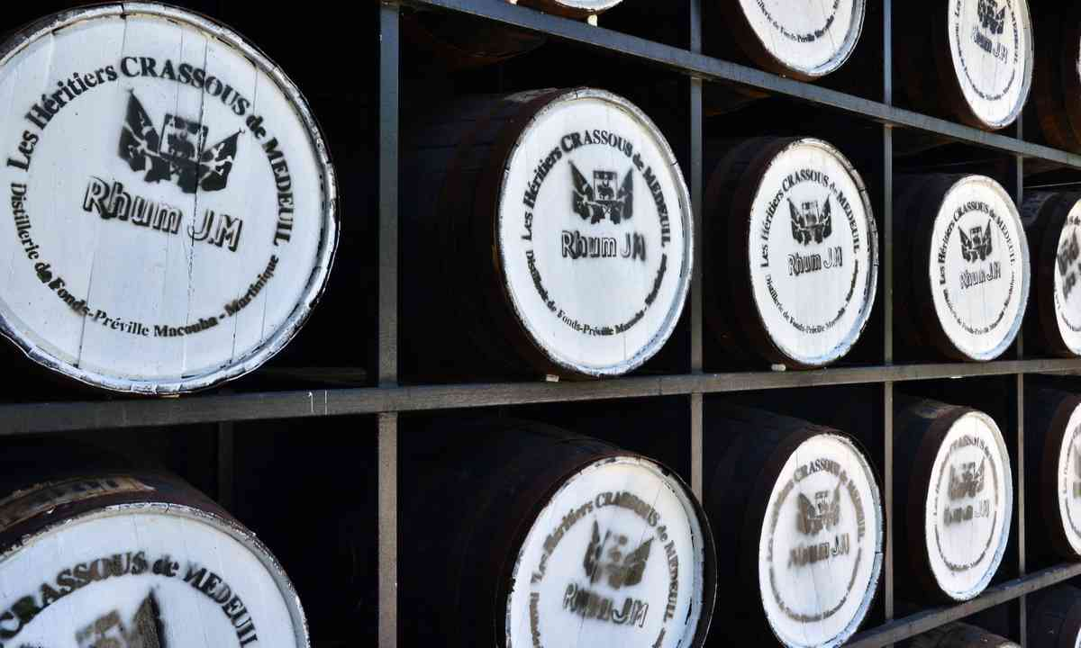 Barrels of rum in Martinique (Dreamstime)