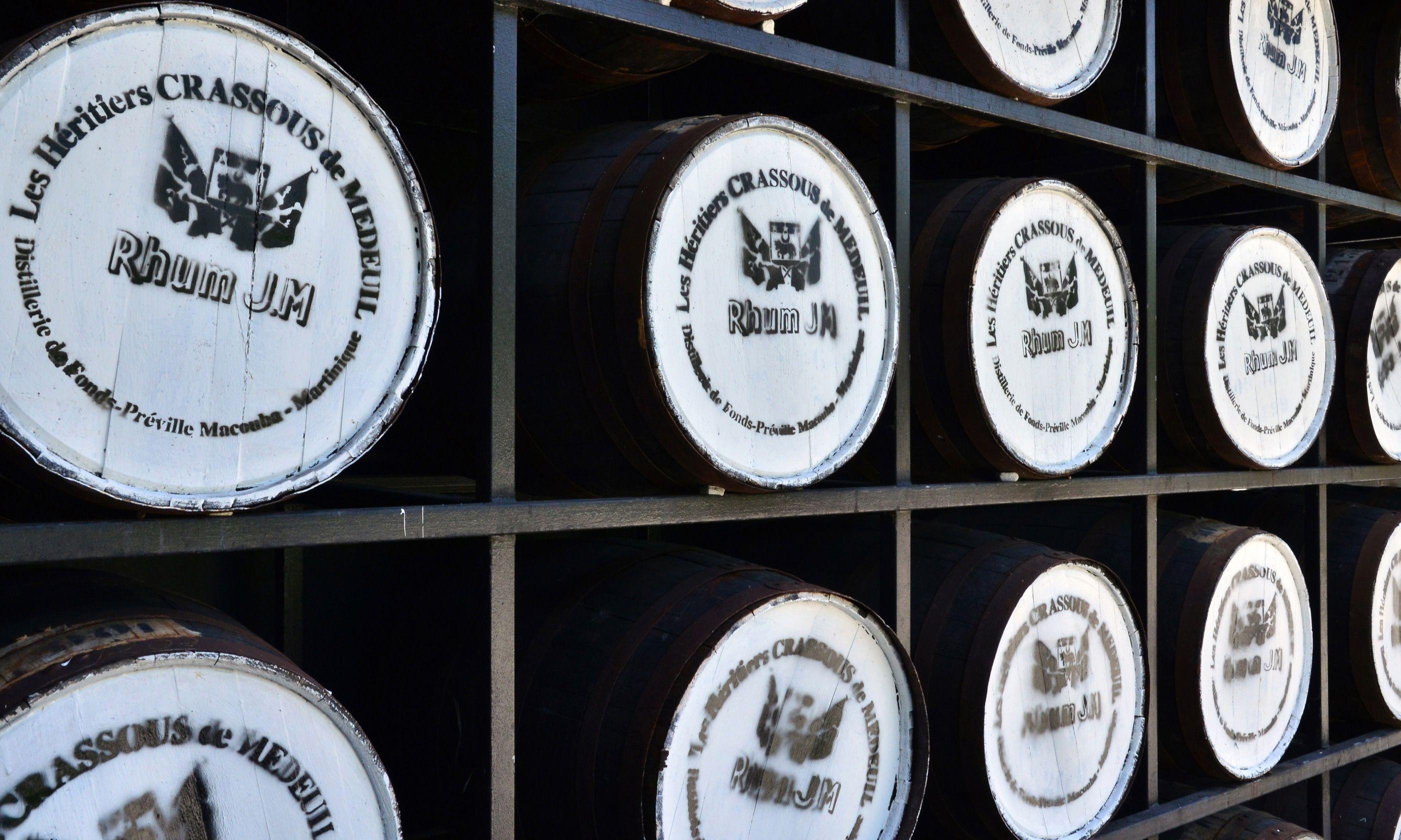 Barrels of rum in Martinique (Dreamstime)