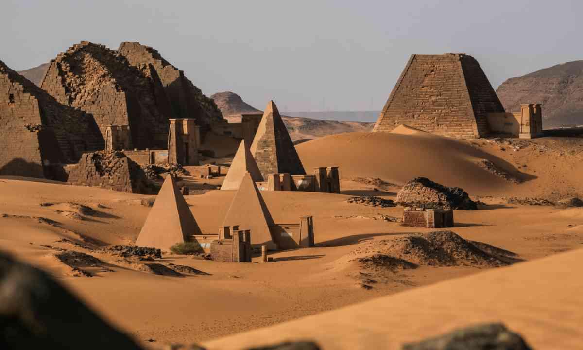 Meroe pyramids in Sudan (Shutterstock)