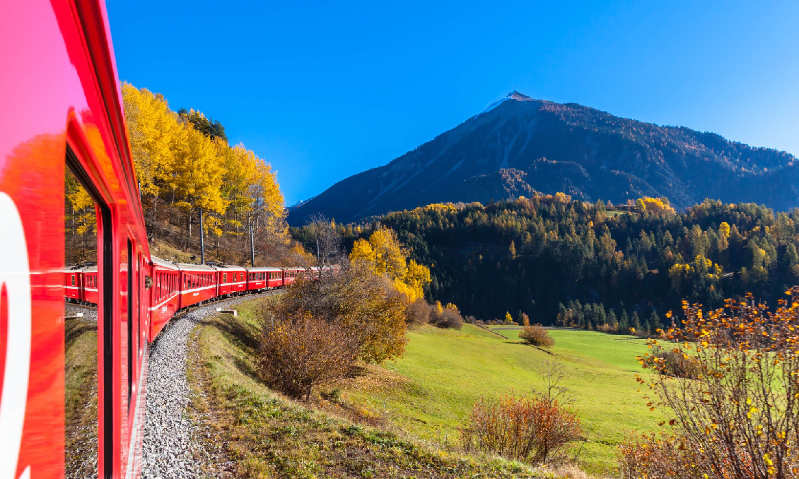 Glacier Express, Switzerland (Shutterstock)