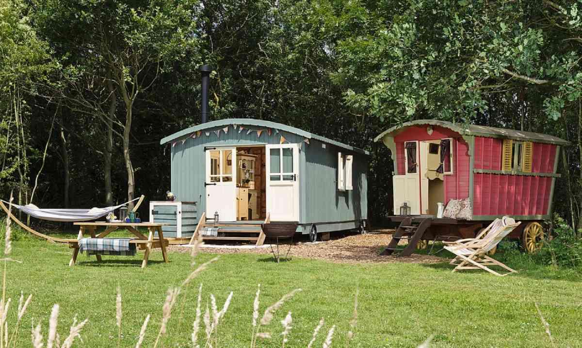 Secret Meadows, Cool Camping