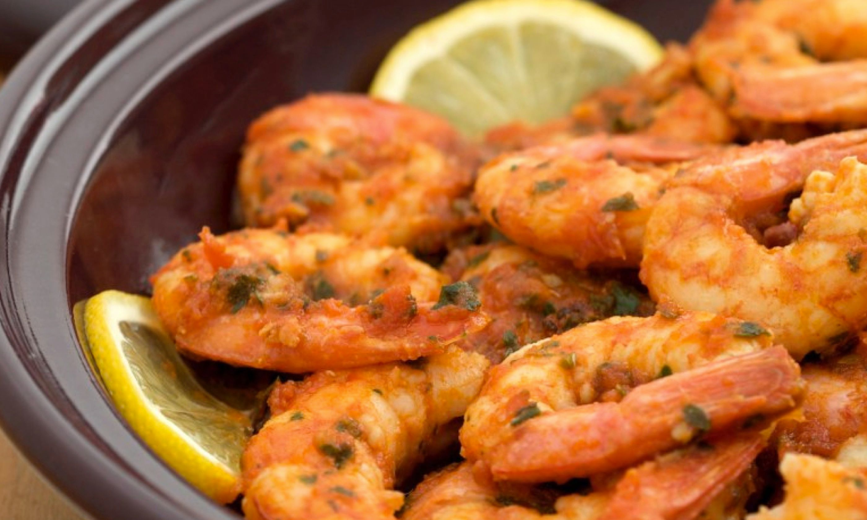 Spicy Shrimp Tagine (Jeff Koehler)