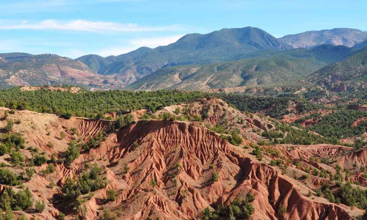 Mountain landscape, Morocco (Shutterstock)