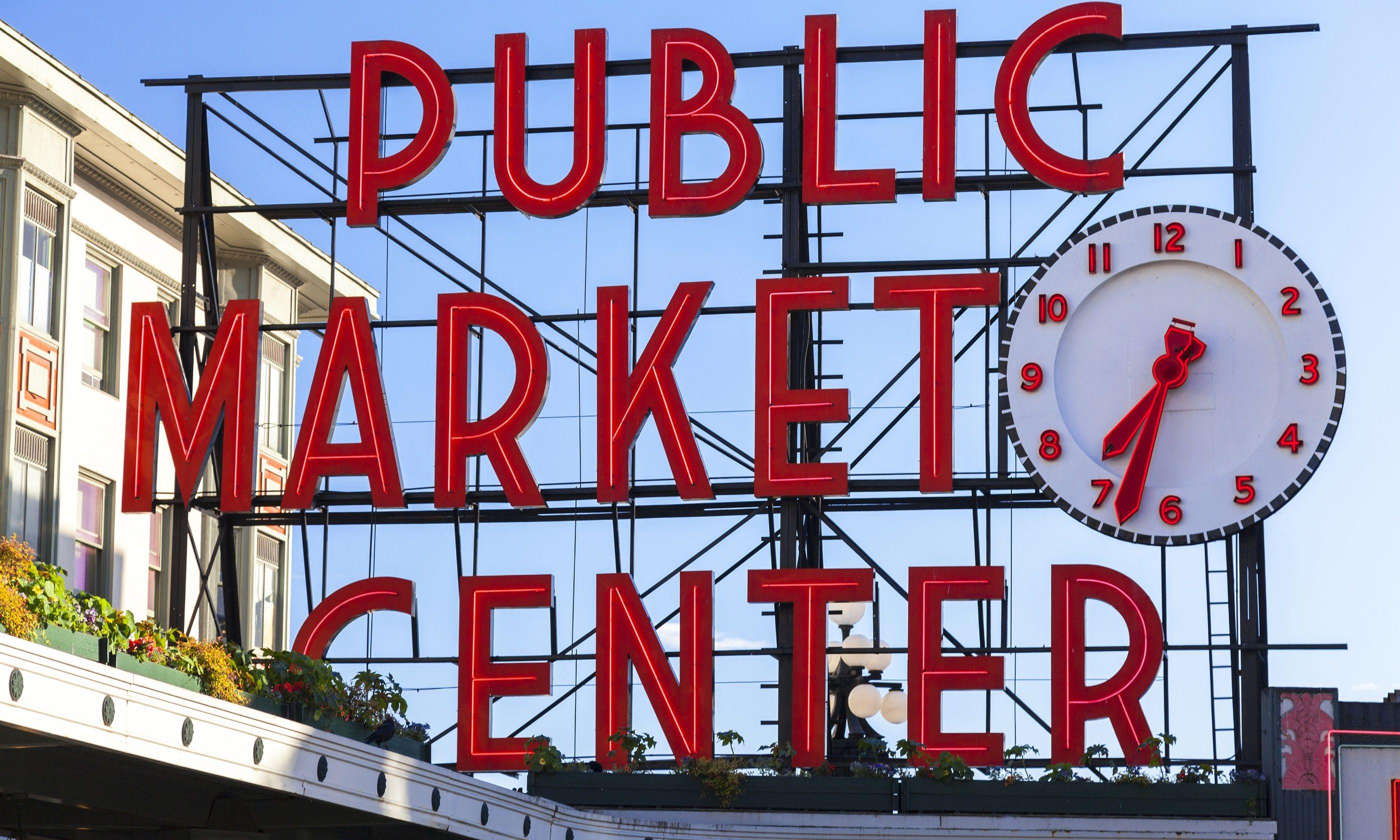 Public Market Center, Seattle (Dreamstime)