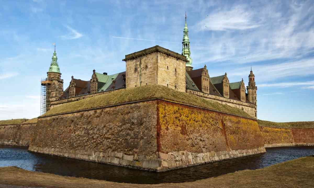 Alas, it's Kronberg Castle (Dreamstime)