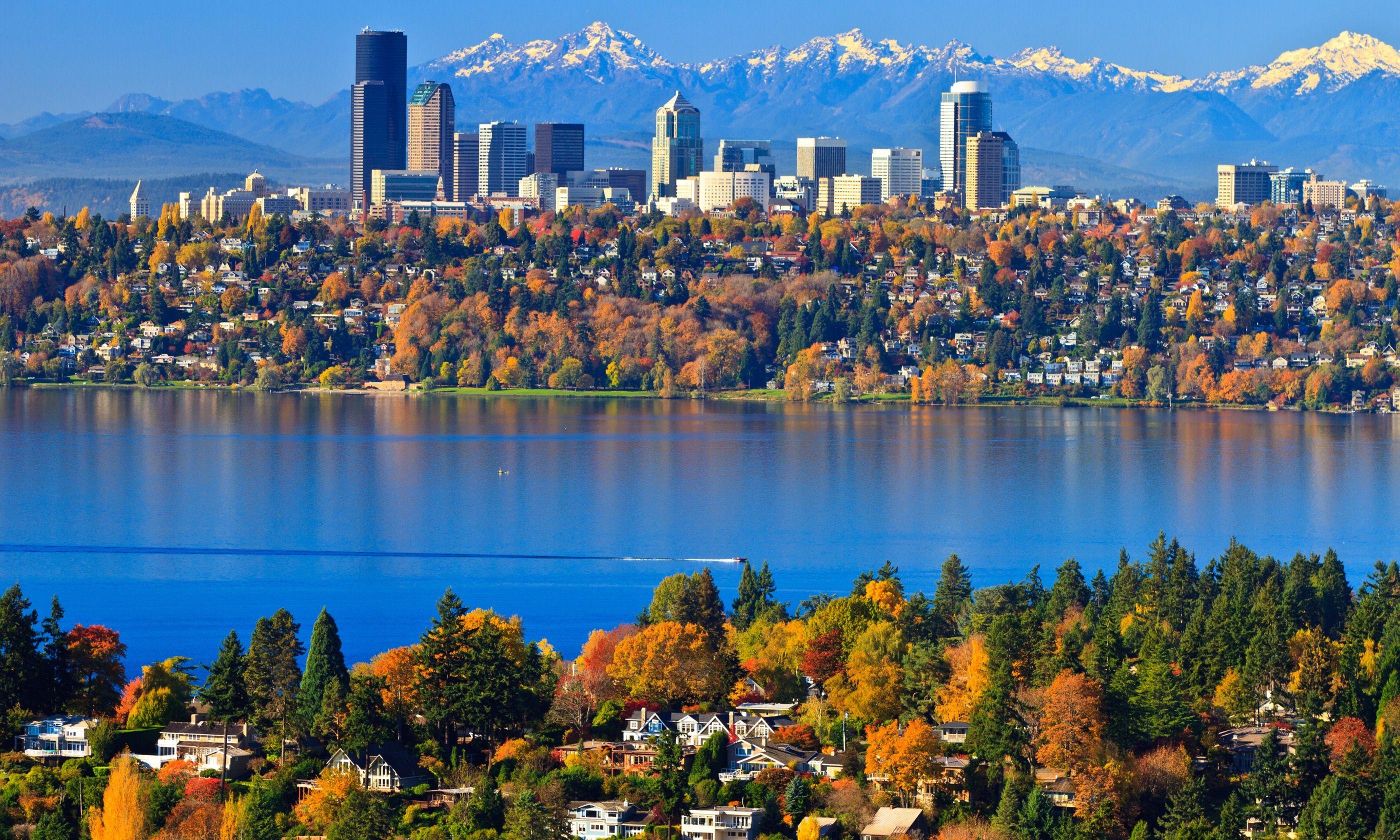 Autumn in Seattle (Dreamstime)