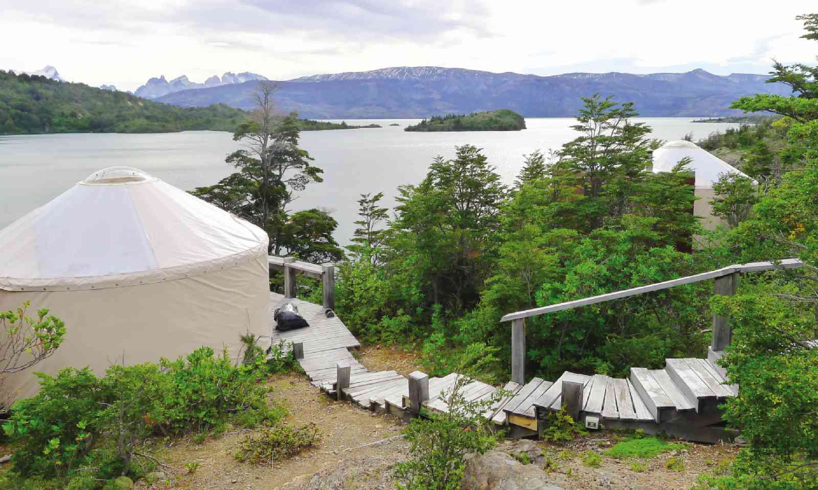 Accommodation at Patagonia Camp