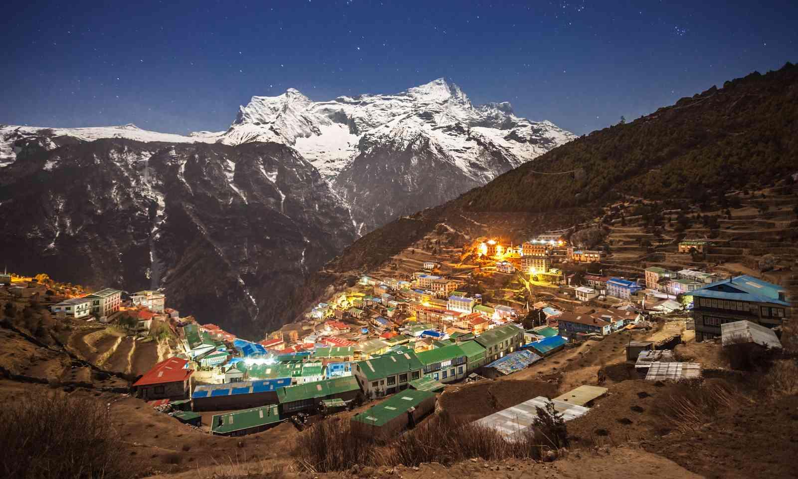 Namche Bazaar, Nepal (Dreamstime)