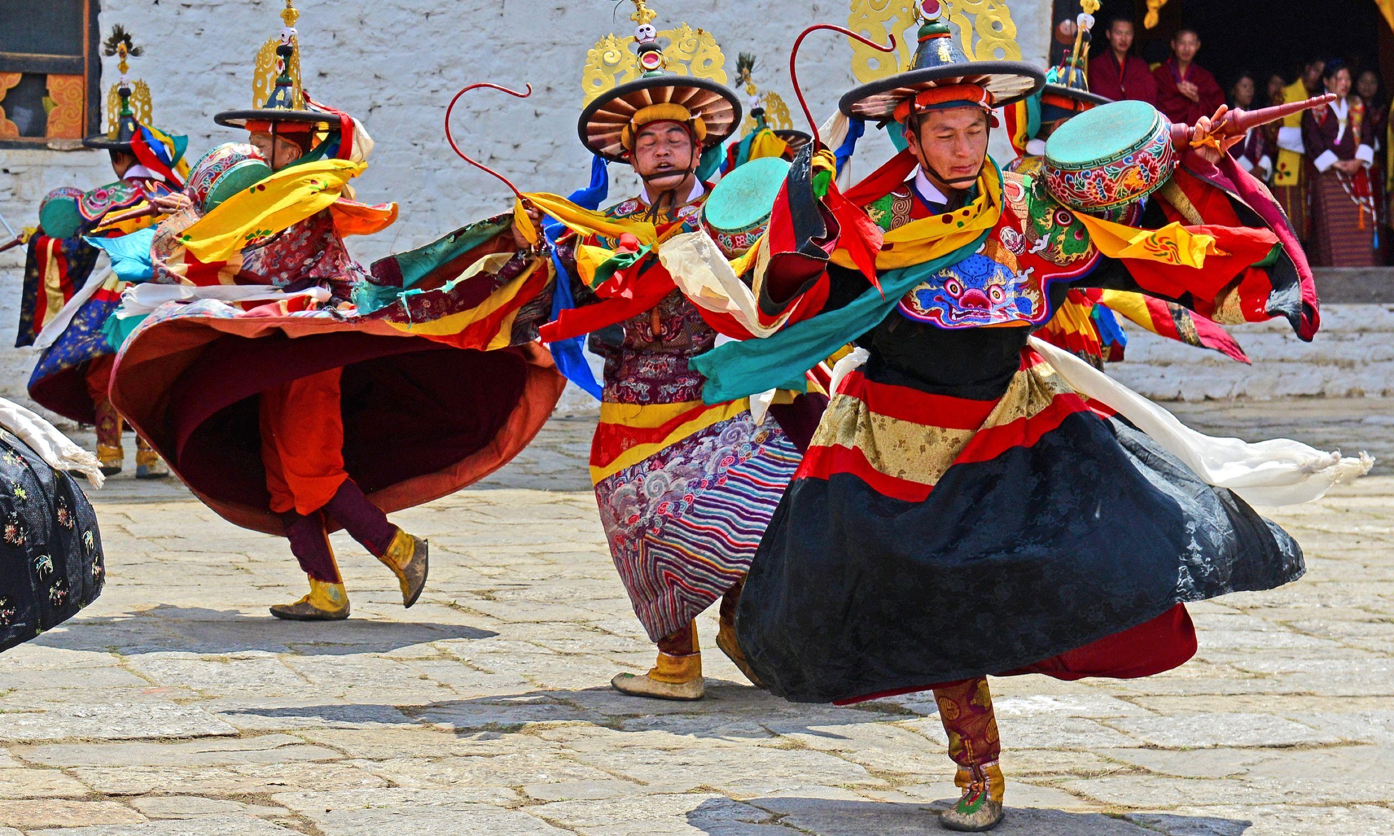 Paro Tsechu Festival, Bhutan (Dreamstime)