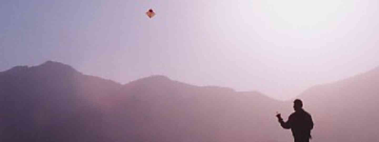 Kite flying in Kabul (Sergeant Pluck)