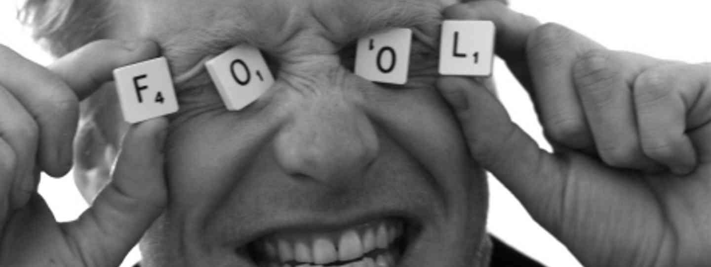 Alastair playing the fool (Alastair Humphreys)