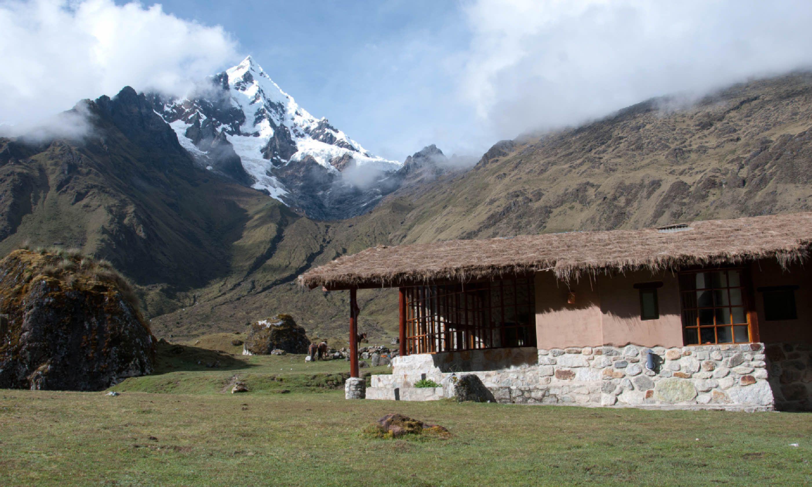 Mountain lodge in Peru (Simon Chubb)