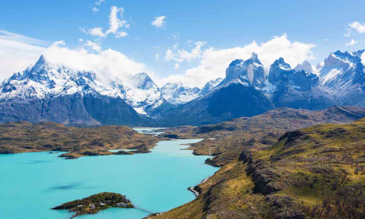 Lake Pehoe in Torres del Paine National Park (Shutterstock)