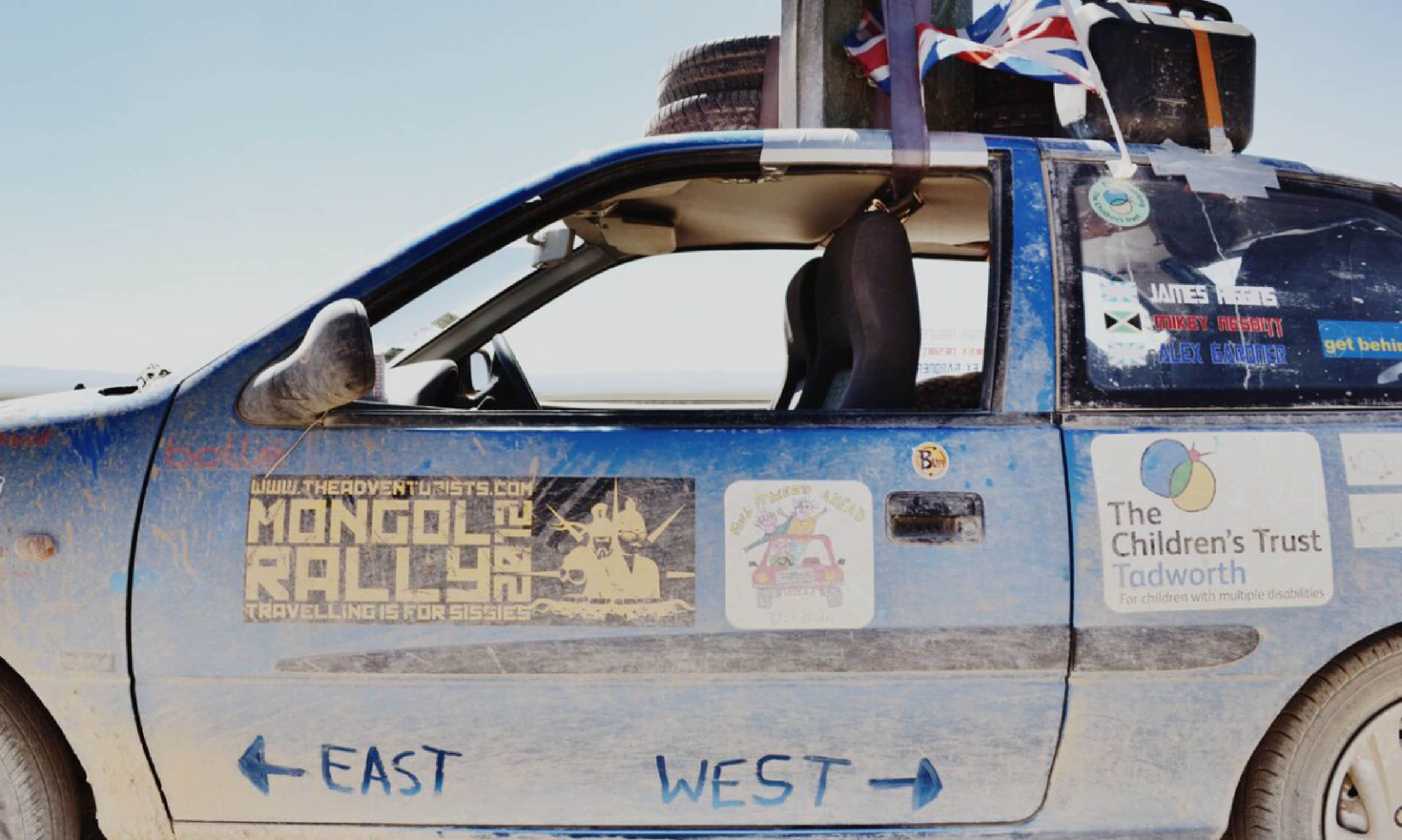 Mongol Rally vehicle (James Higgins)
