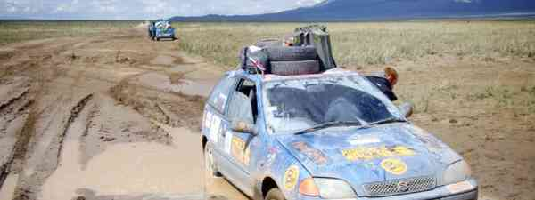 Driving the Mongol Rally (James Higgins)