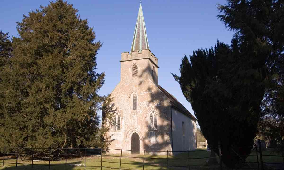 The church in Steventon (Dreamstime)