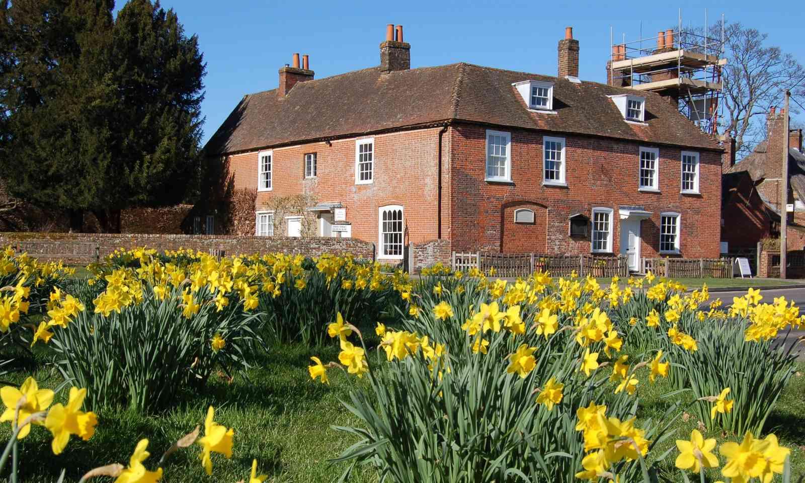Jane Austen's house in Chawton (Dreamstime)