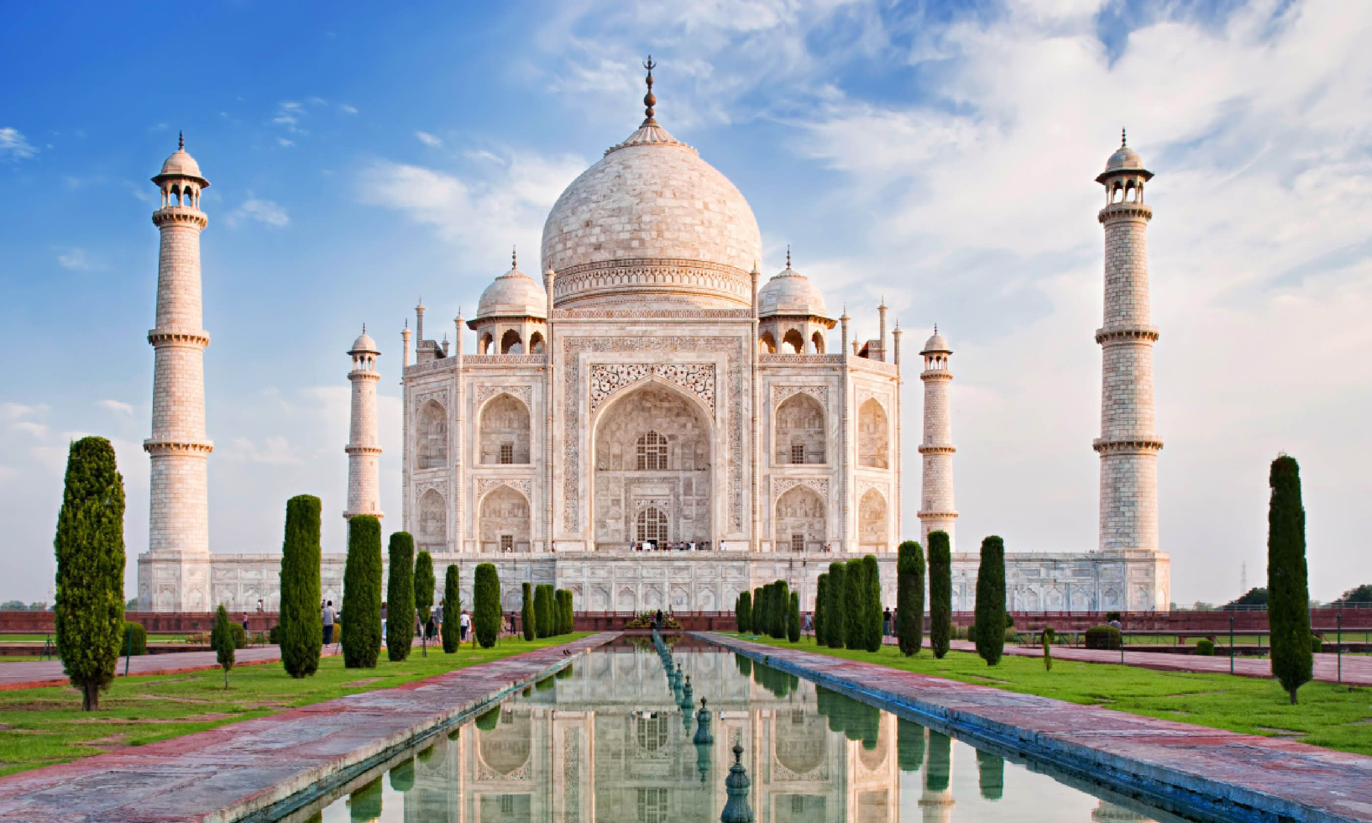 Taj Mahal, India (Shutterstock)