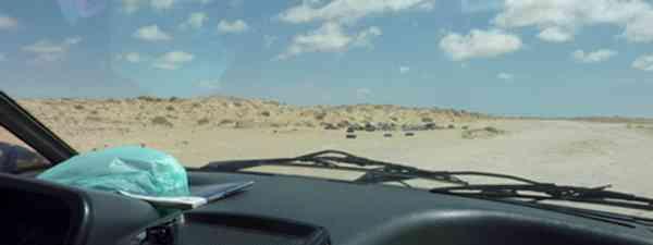 Morocco to Mauritania, and on to Naughty-Boo