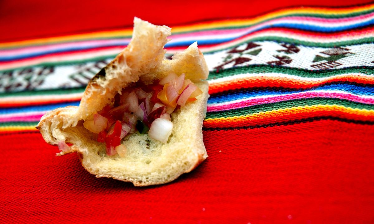 Typical Peruvian highland food (Dreamstime)