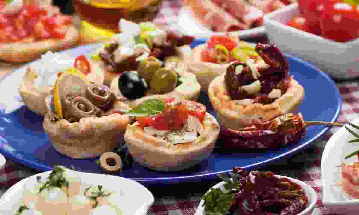 A selection of tapas (Dreamstime)