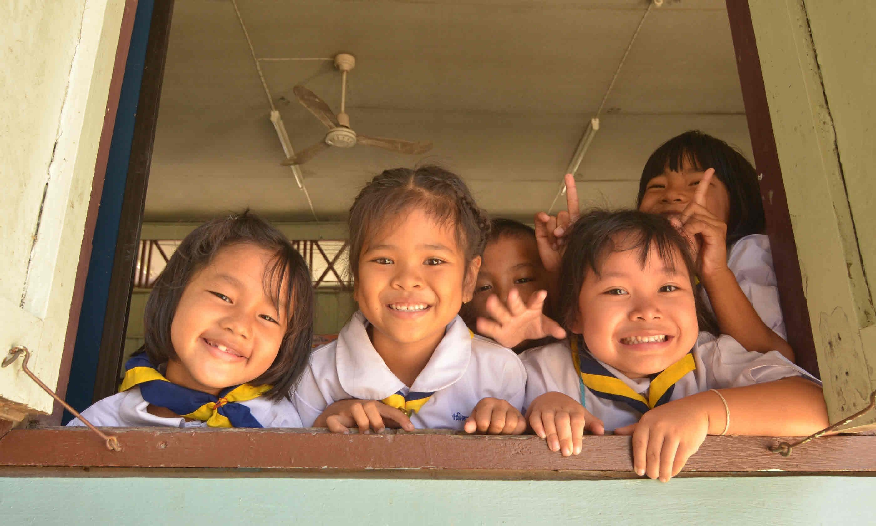 School children in Thailand (Shutterstock)