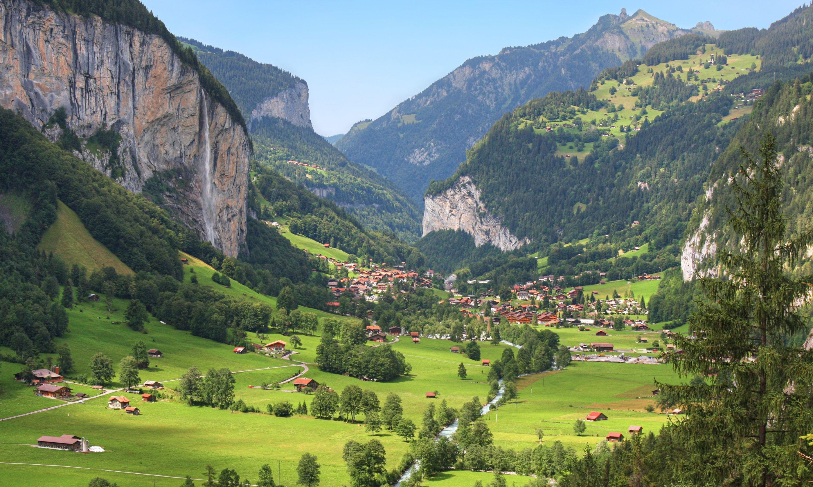 Lauterbrunnen valley in Switzerland (Dreamstime)