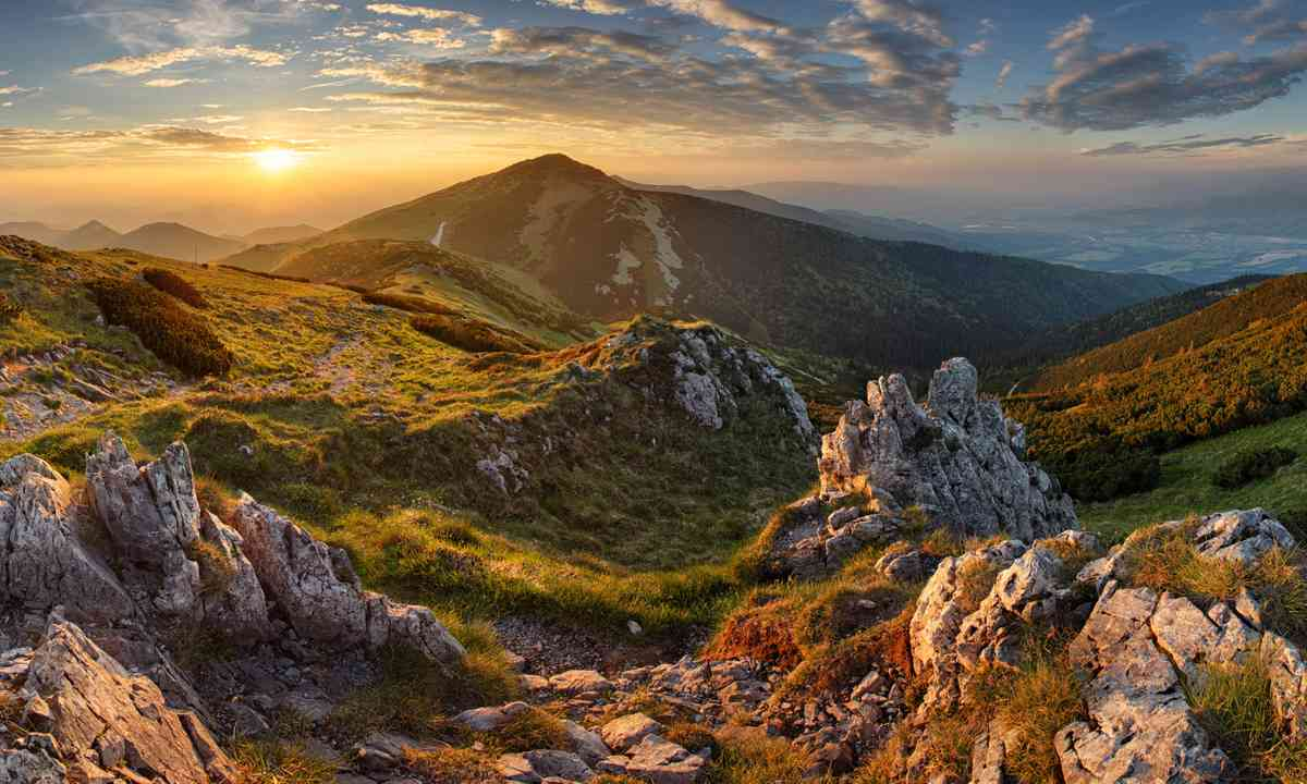 The High Tartras in Slovakia (Dreamstime)