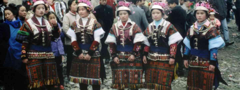 Festival Dresses of Zhouxi Miao women