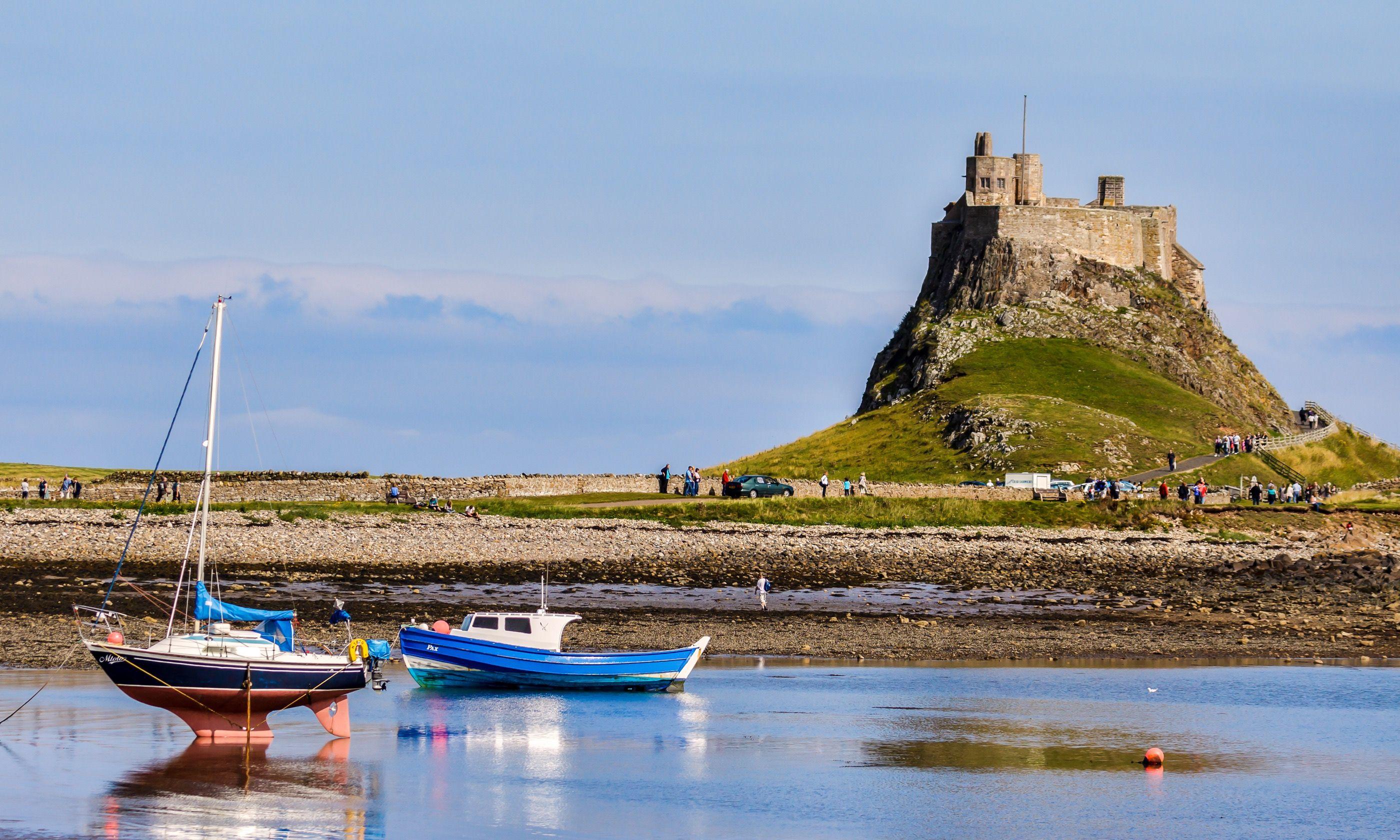 Lindisfarne castle, Holy Island (Shutterstock.com)