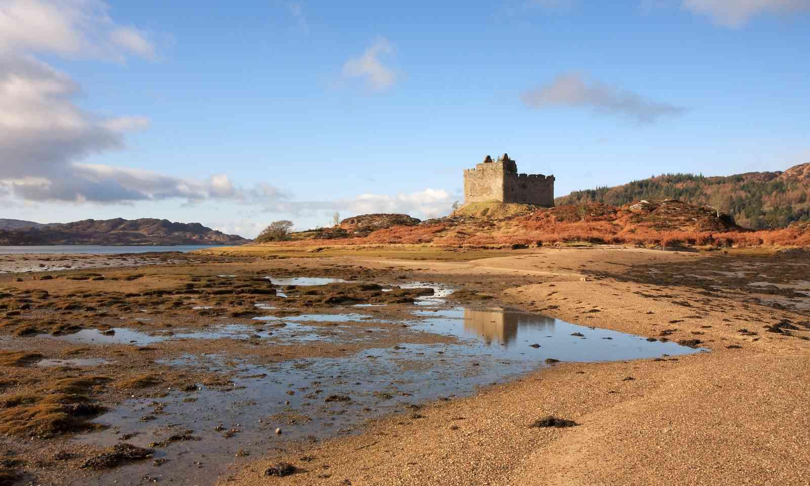 Castle Tioram (Shutterstock.com)