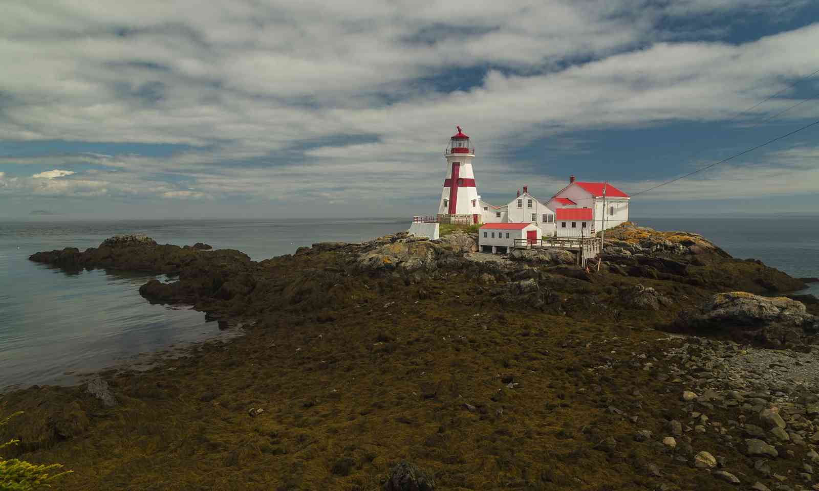 Low tide path to East Quoddy Light (Shutterstock.com)