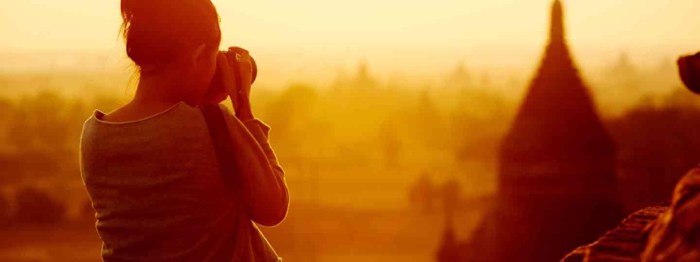 Travel photographer at Bagan, Burma/Myanmar (Shutterstock: see credit below)