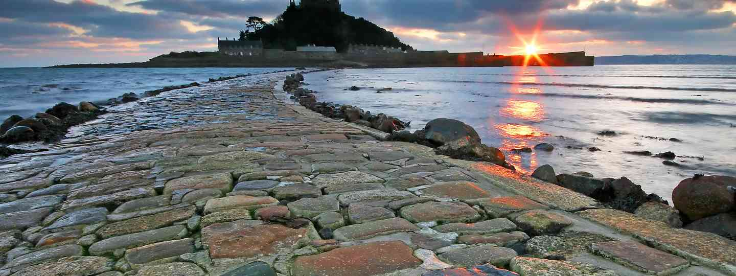 The causeway to St Michael's Mount (Shutterstock.com. See main credit below)