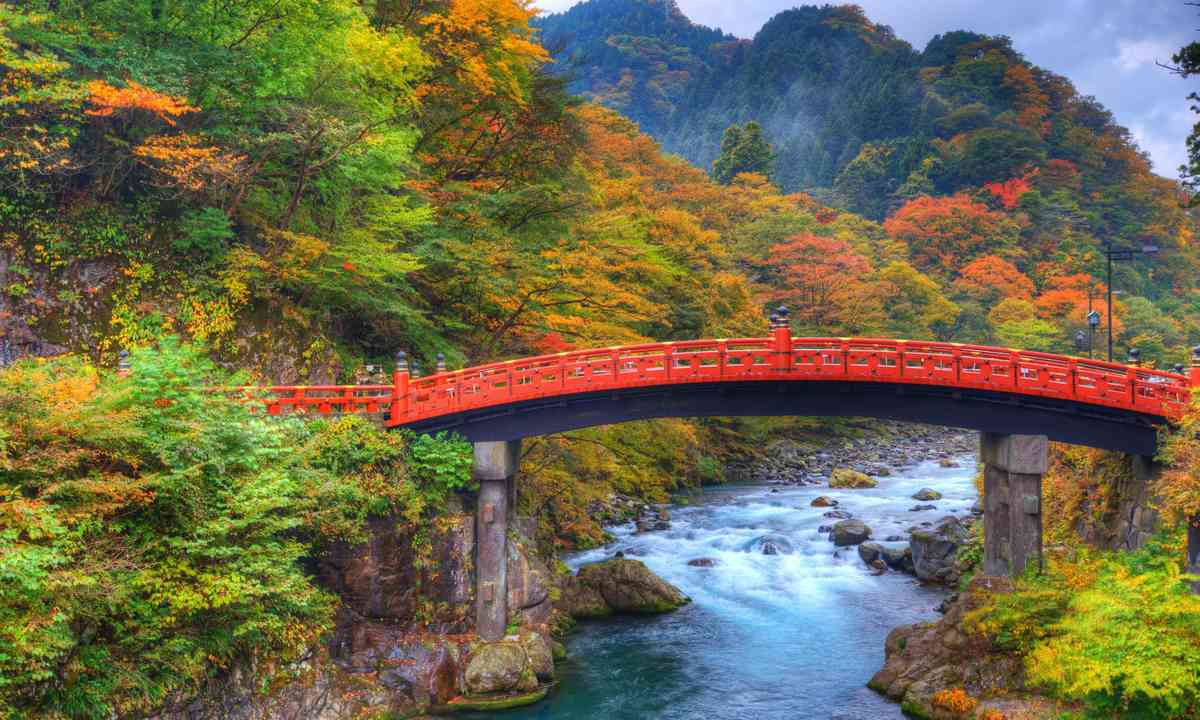 Shinkyo Bridge in Nikko (Shutterstock.com)