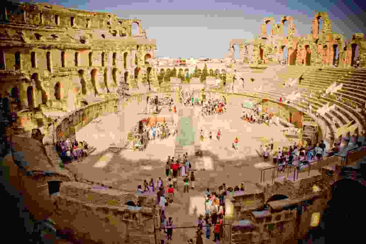 El Jem Colosseum in Tunisia (Dreamstime)