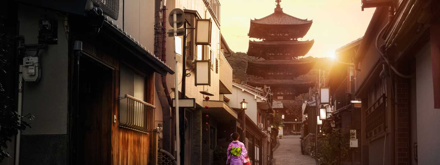 Early morning in Kyoto (Shutterstock.com. See main credit below)