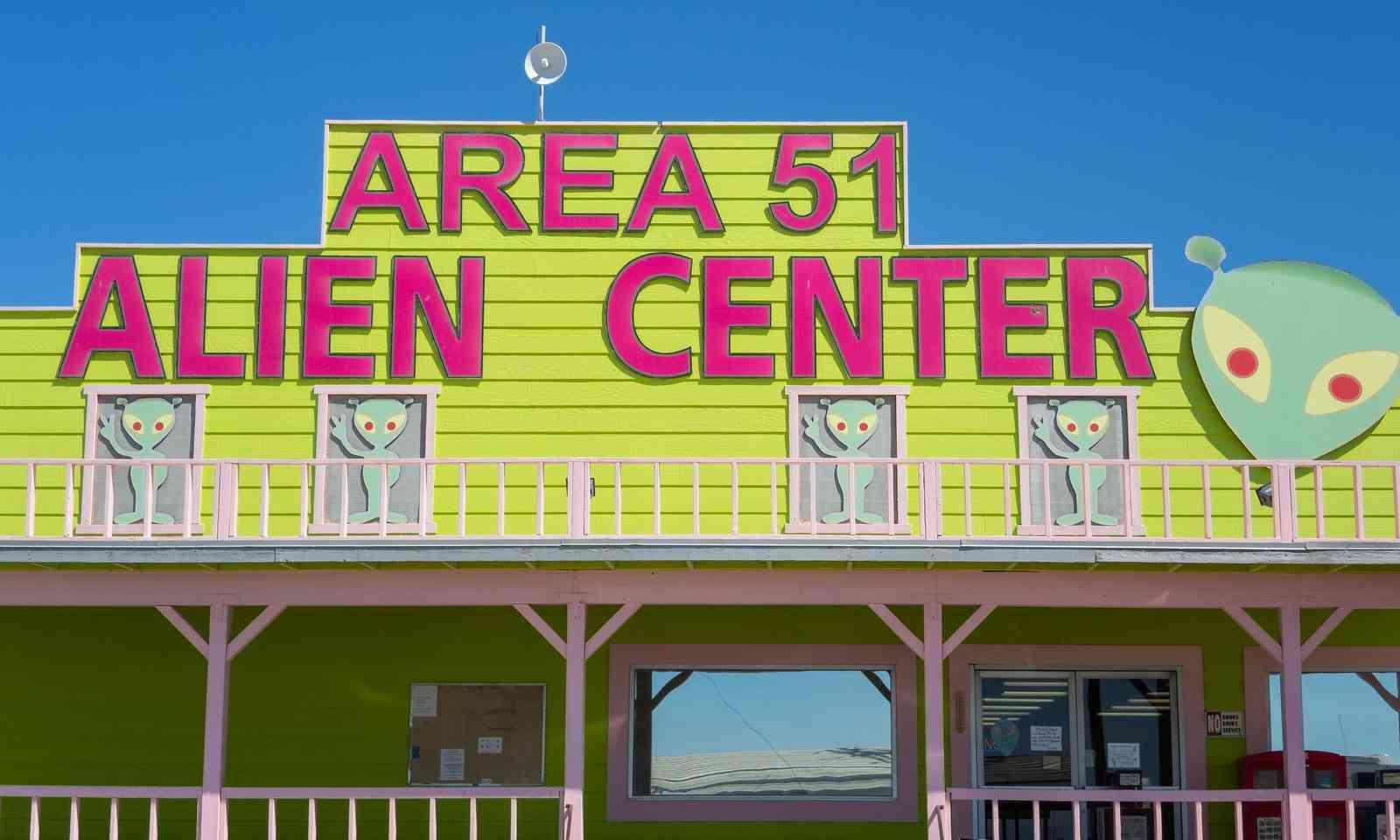 Area 51 Alien Center (Dreamstime)